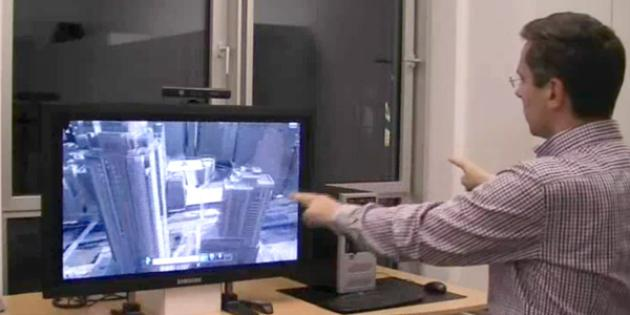 Gesture Control Software for Kinect & Windows 7