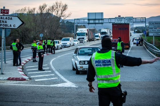 Widespread Clampdown Takes Hold; Spanish Emergency: Virus Update