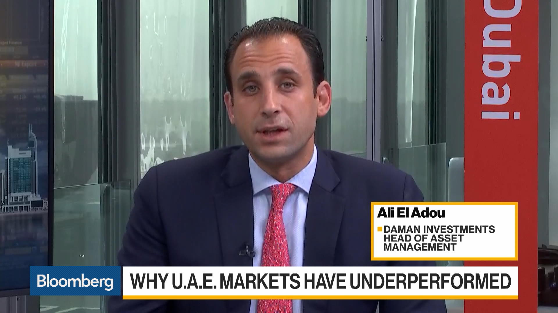 Daman Investments Head of Asset Management Ali El Adou on Investment Strategy, U.A.E. Markets