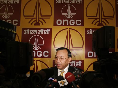 Oil & Natural Gas Corp. Chairman A.K. Hazarika