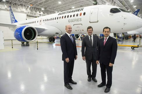 Bombardier CEO Alain Bellemare