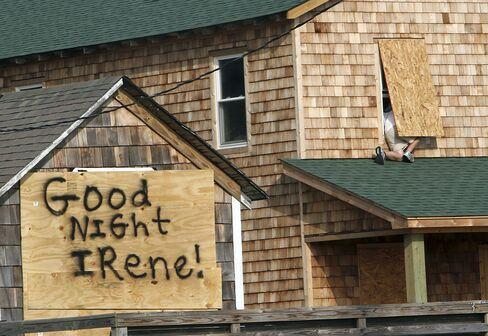 Hurricane Irene Churns Toward North Carolina
