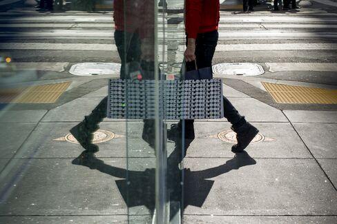 A Shopper in San Francisco