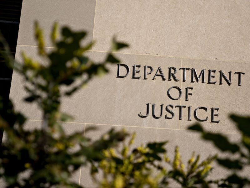 Department Of Justice Headquarters As Barr Tells Associates He May Quit Over Ongoing Trump Tweets