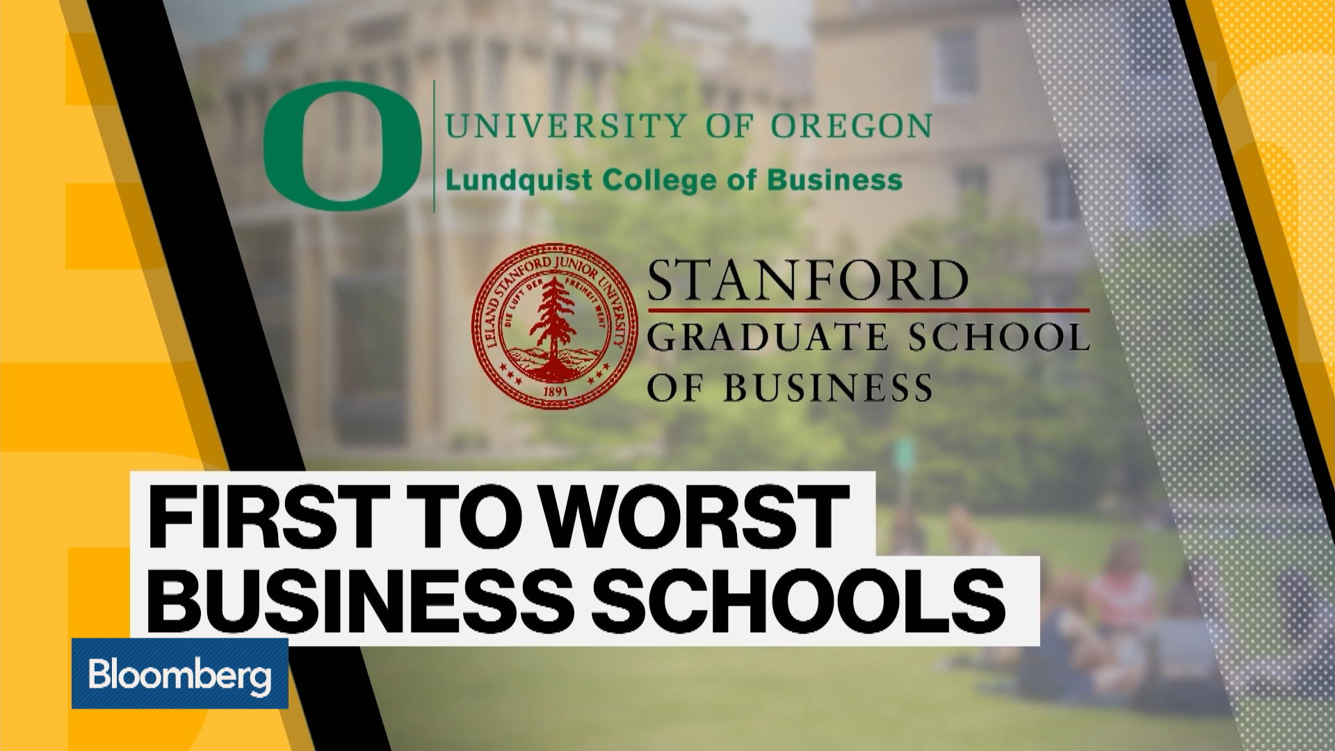 Stanford Sets the Pace for U S  Business Schools