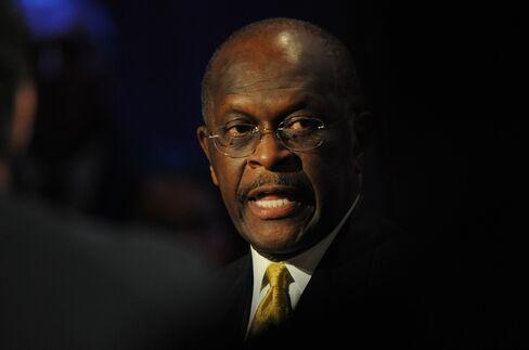 Republican Presidential Contender Herman Cain