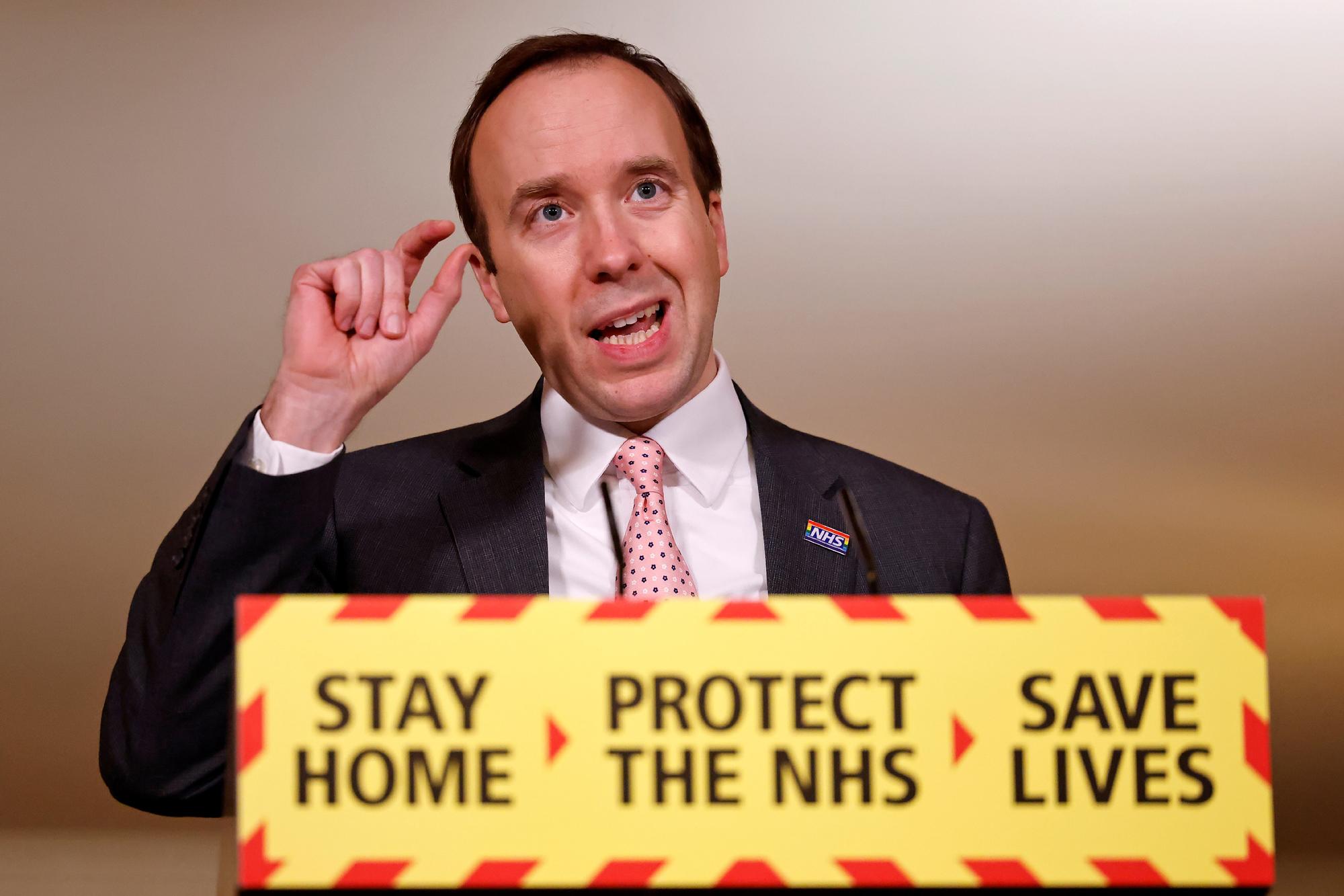 Conférence de presse sur les coronavirus depuis Downing Street