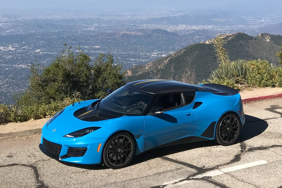 2020 Lotus Evora Redesign