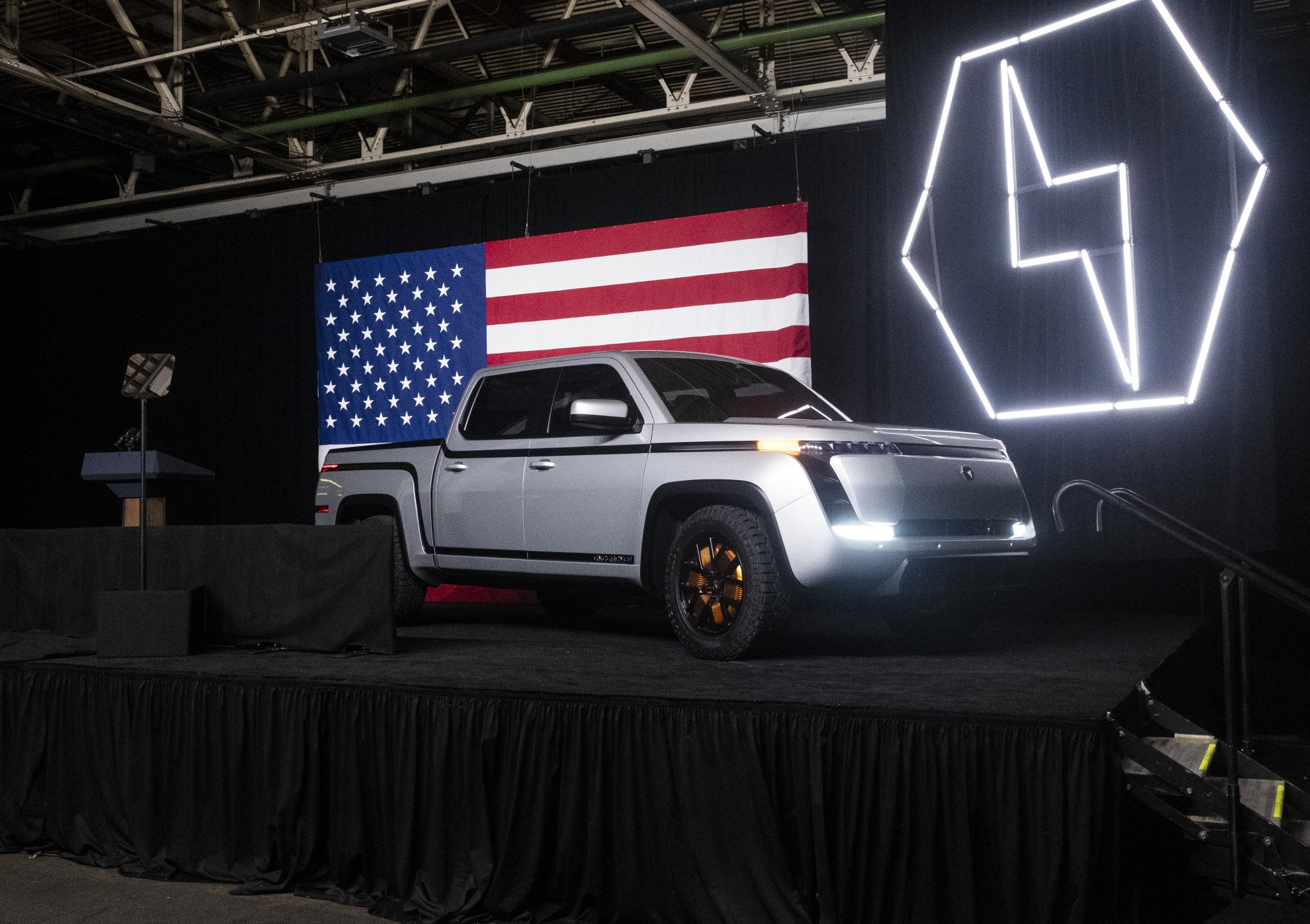 The Lordstown Motors Corp. Endurance electric pickup truck