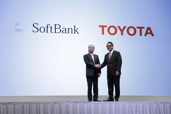 SoftBank, Toyota Team Up on Ride-Hailing, Self-Driving Cars