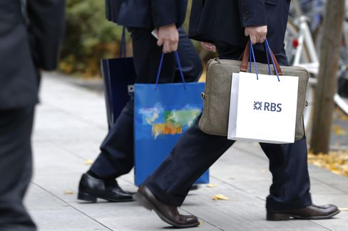 RBS Japan Unit Chief Said Poised to Resign After Libor Probe