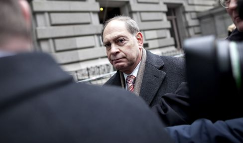 Irving Picard speaks to the media outside U.S. Bankruptcy Court in New York, on Feb. 2, 2010.