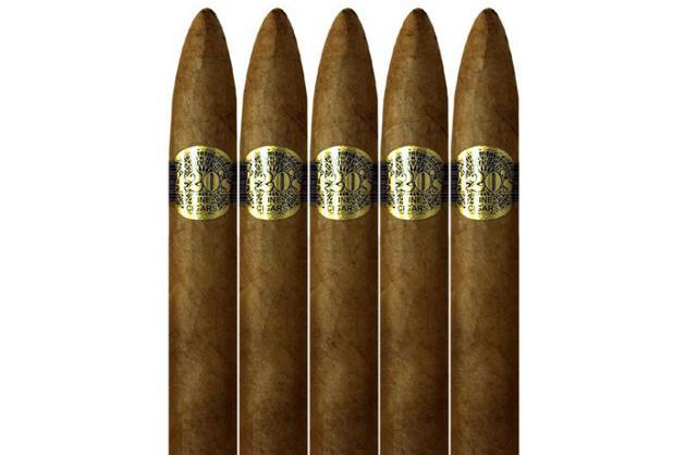 Cuban Crafters' 420 Marley Torpedo cigars, $89.99/25