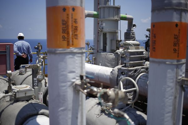 Chevron Corp. Jack/St.Malo Platform As Big Oil Rivals Shale In Gulf