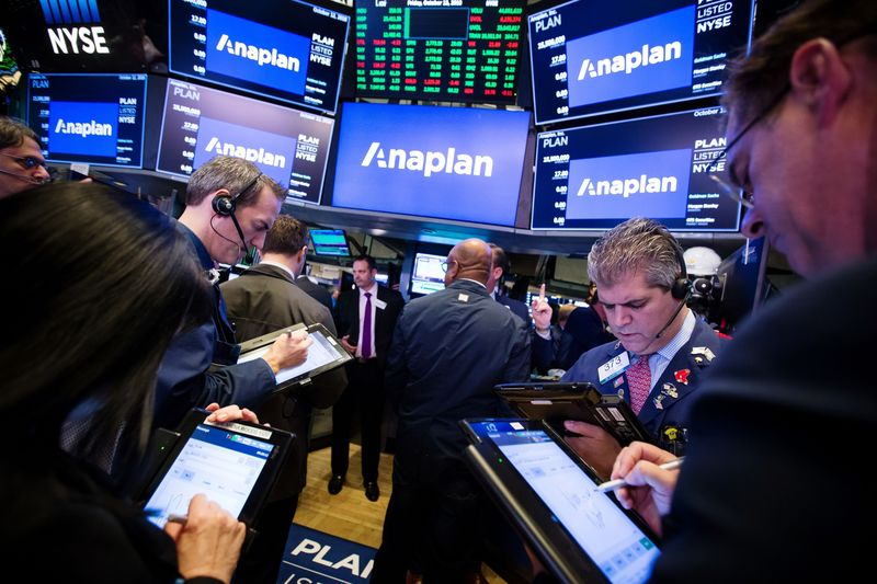 Anaplan Trading IPO