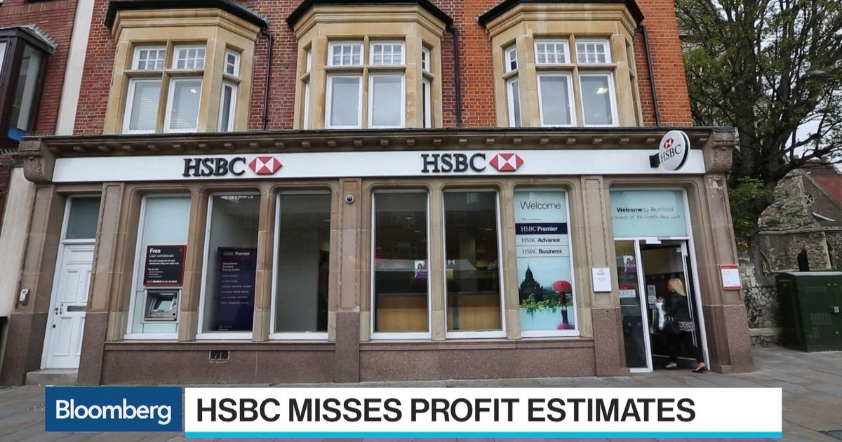 HSBC Faces Revenue Challenges From U K , Hong Kong