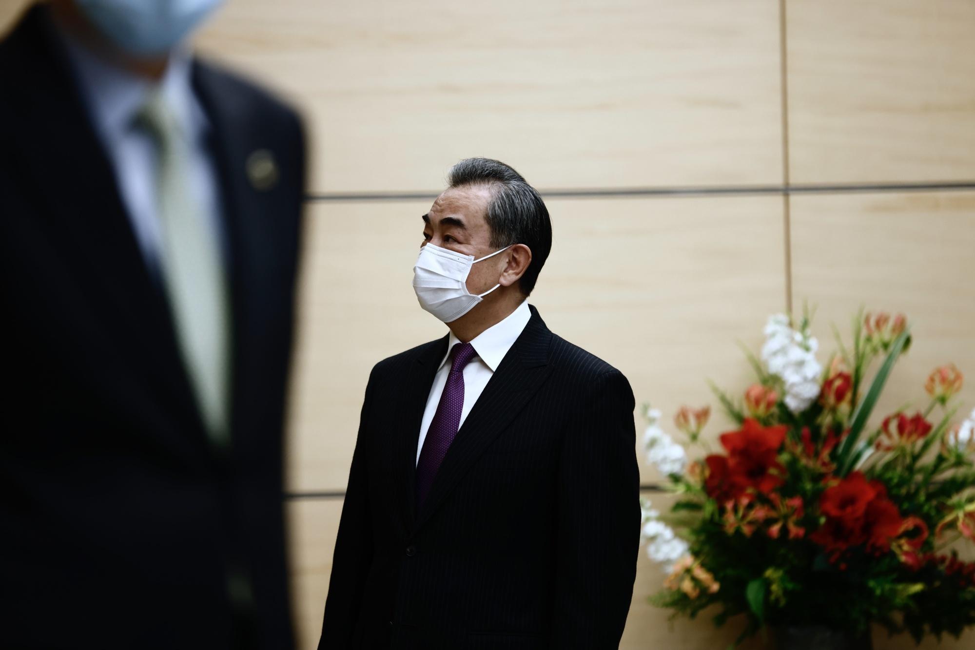 Wang Yi in Tokyo last November.