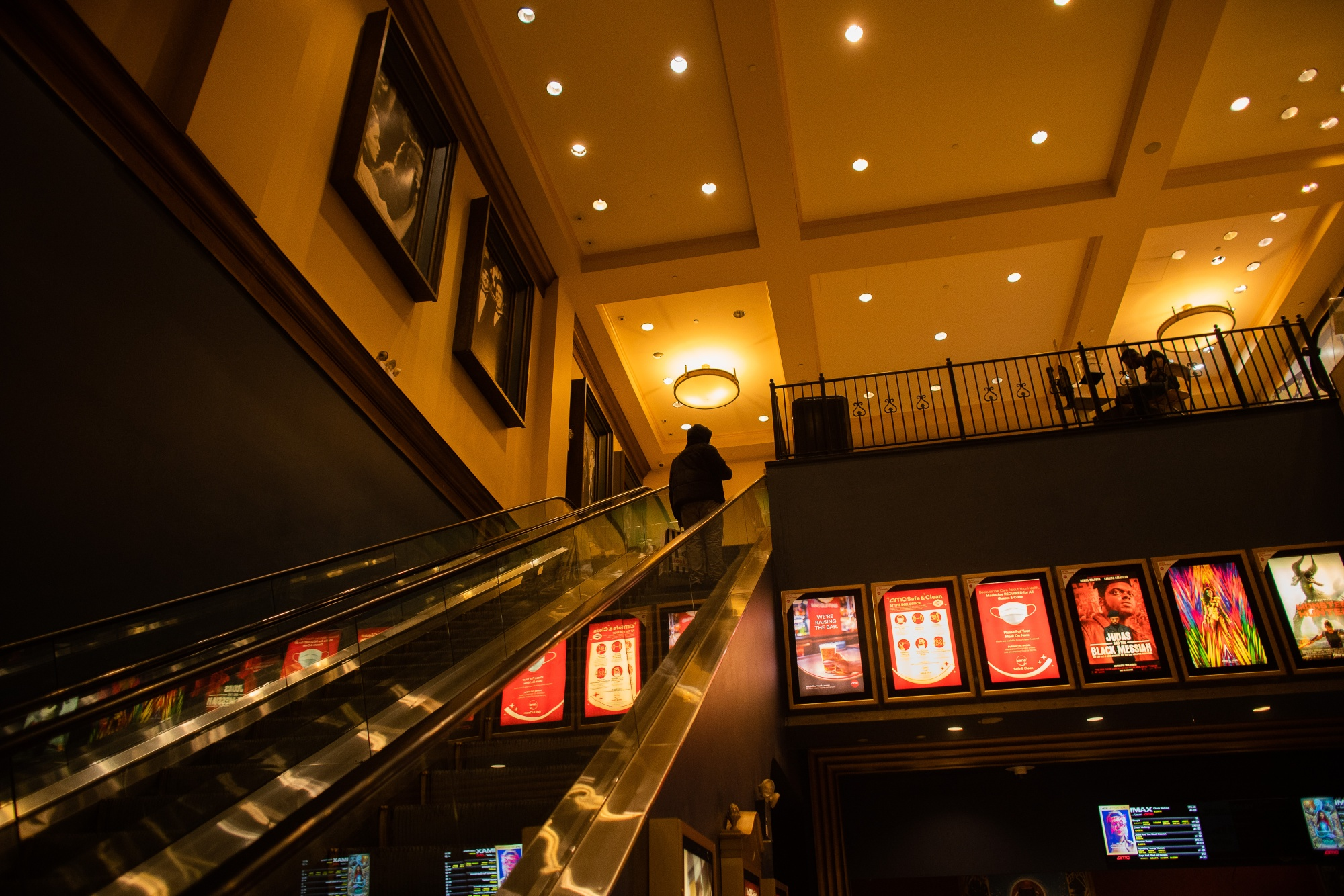 An AMC movie theaterin New York City, the second-largest U.S. movie market, reopened after a yearlong hiatus.