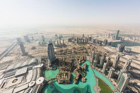 Business Bay Development Area In Dubai