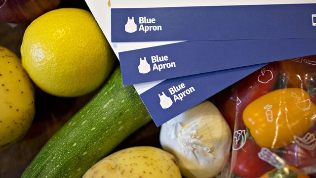 Amaznon whole foods blue apron ipo