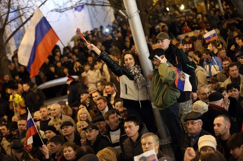 Crimea Vote on Joining Russia