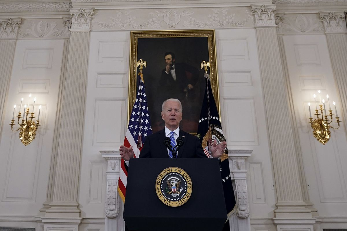 Biden Says Inflation 'Temporary,' Affirms Fed Independence