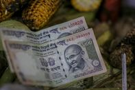 India's Rupee Drops to Record Low as Crude Oil Prices Advance