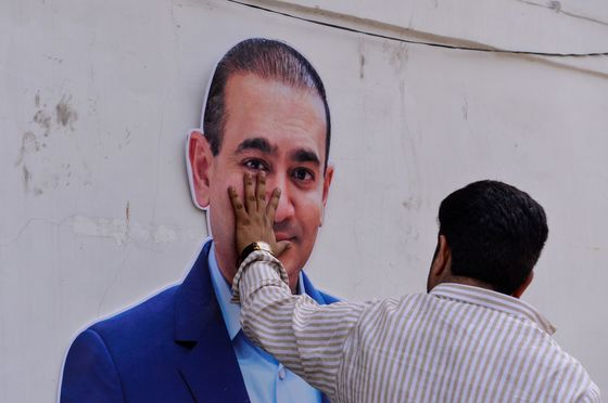 Four Fugitive Tycoons Loom Large Over India's Election