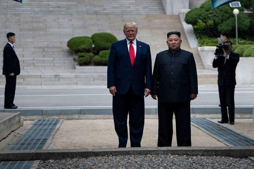 Trump Proposed DMZ Meeting in Letter to Kim Before Visit: Asahi