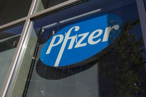 Pfizer Inc. And Allergan Plc Offices As They Combine In $160 Billion Deal