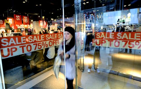 Retail Sales in U.S. Rose Less Than Forecast