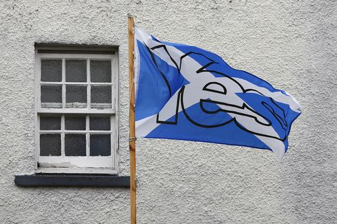 'Yes' Pro-Independence Flag