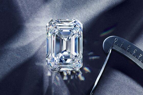 Russia's Biggest Cut Diamond Fetches $14.1 Million at Christie's