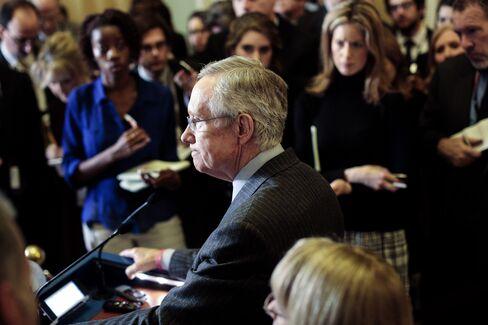U.S. Senate Majority Leader Harry Reid