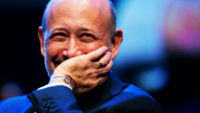 Lloyd Blankfein Is Now a Billionaire - Bloomberg