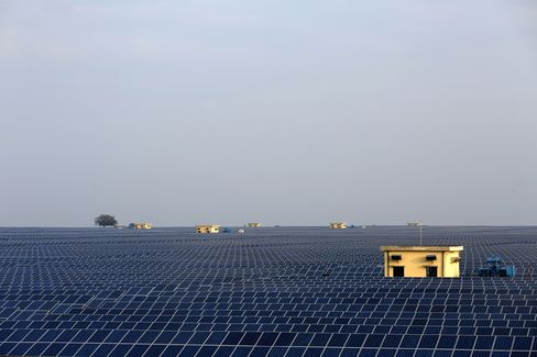 Solar Field In Madhya Pradesh