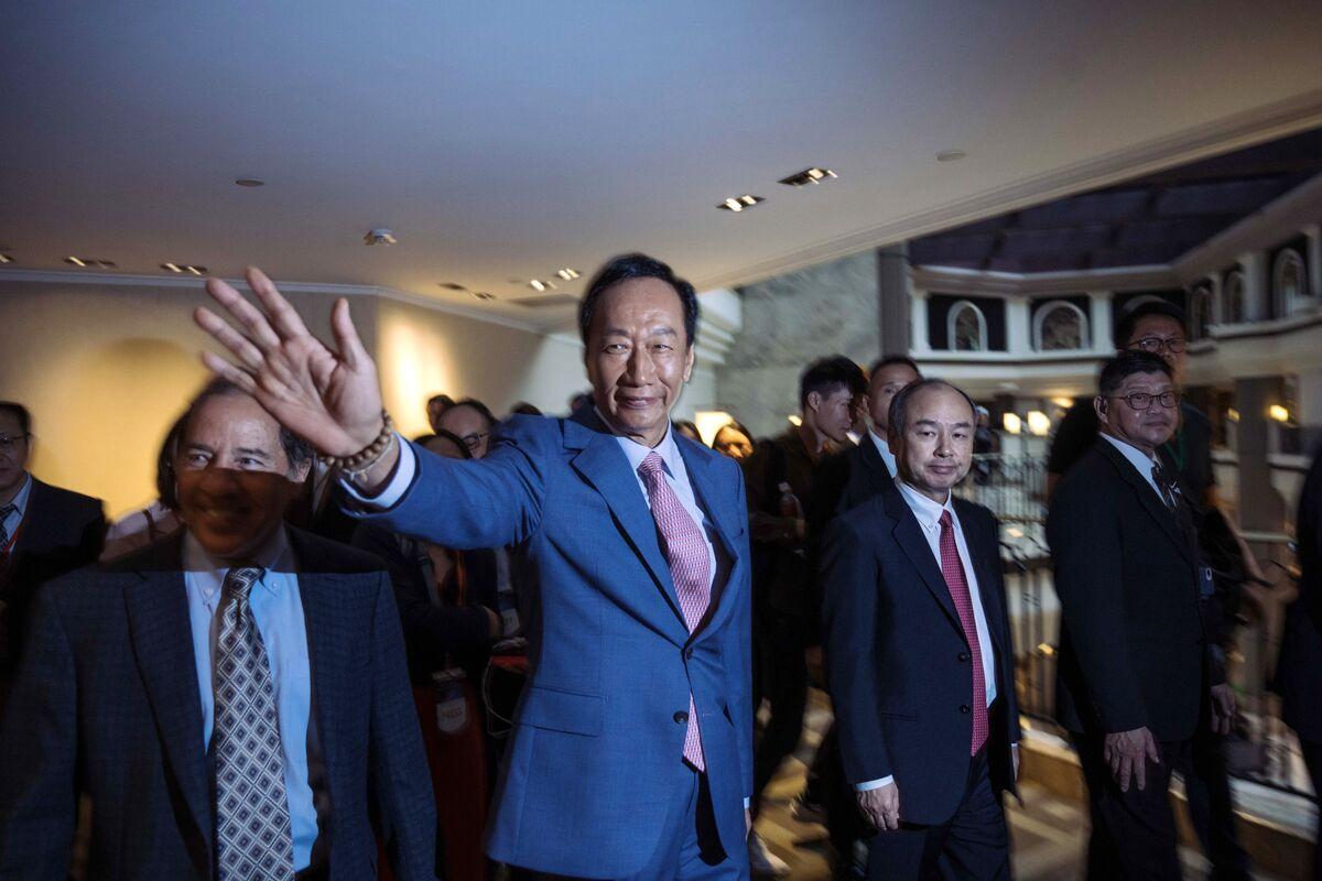 Foxconn Billionaire Terry Gou Drops Taiwan Presidential Bid