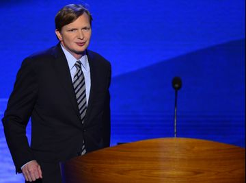 Jim Messina, campaign manager for Obama for America speaks at the 2012 Democratic National Convention in Times Warner Cable Arena Thursday, September 6, 2012 in Charlotte, North Carolina. (Harry E. Walker/MCT)