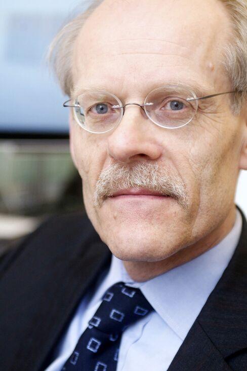 Swedish Riksbank Governor Stefan Ingves