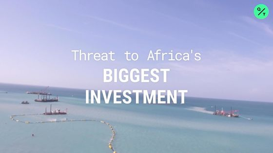 Africa's Biggest Investment Takes Shape Amid Islamist Threat