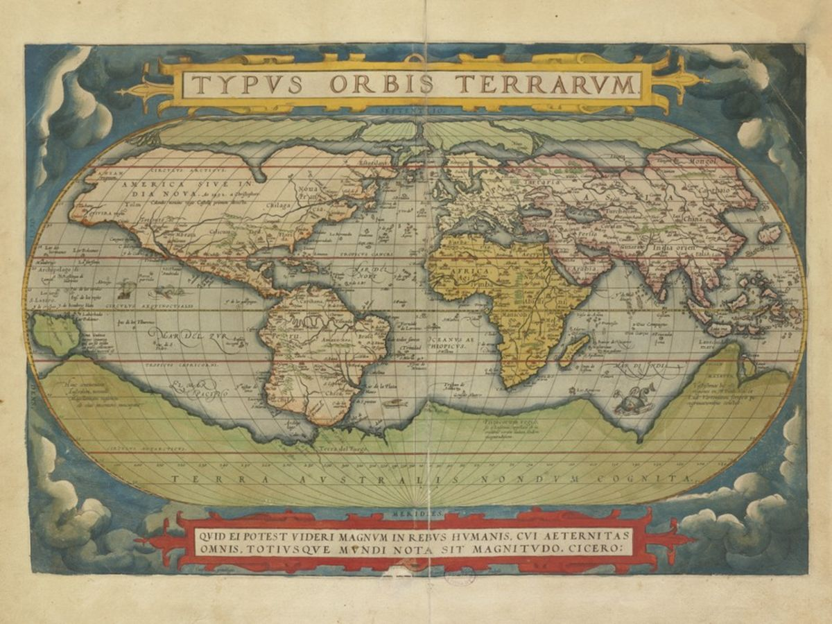 Mapping How Shakespeare Saw the World