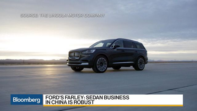 Ford S Lincoln Looks To Suvs For Salvation Bloomberg