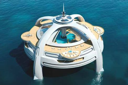 Your Very Own Floating Bond-Villain Lair for $680 Million