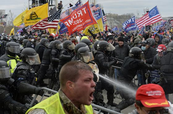 Trump Sued by Two Capitol Police Officers for Inciting 'Wild' Riot