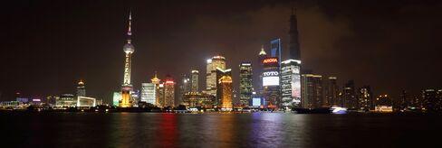 General City Scenes Of Shanghai