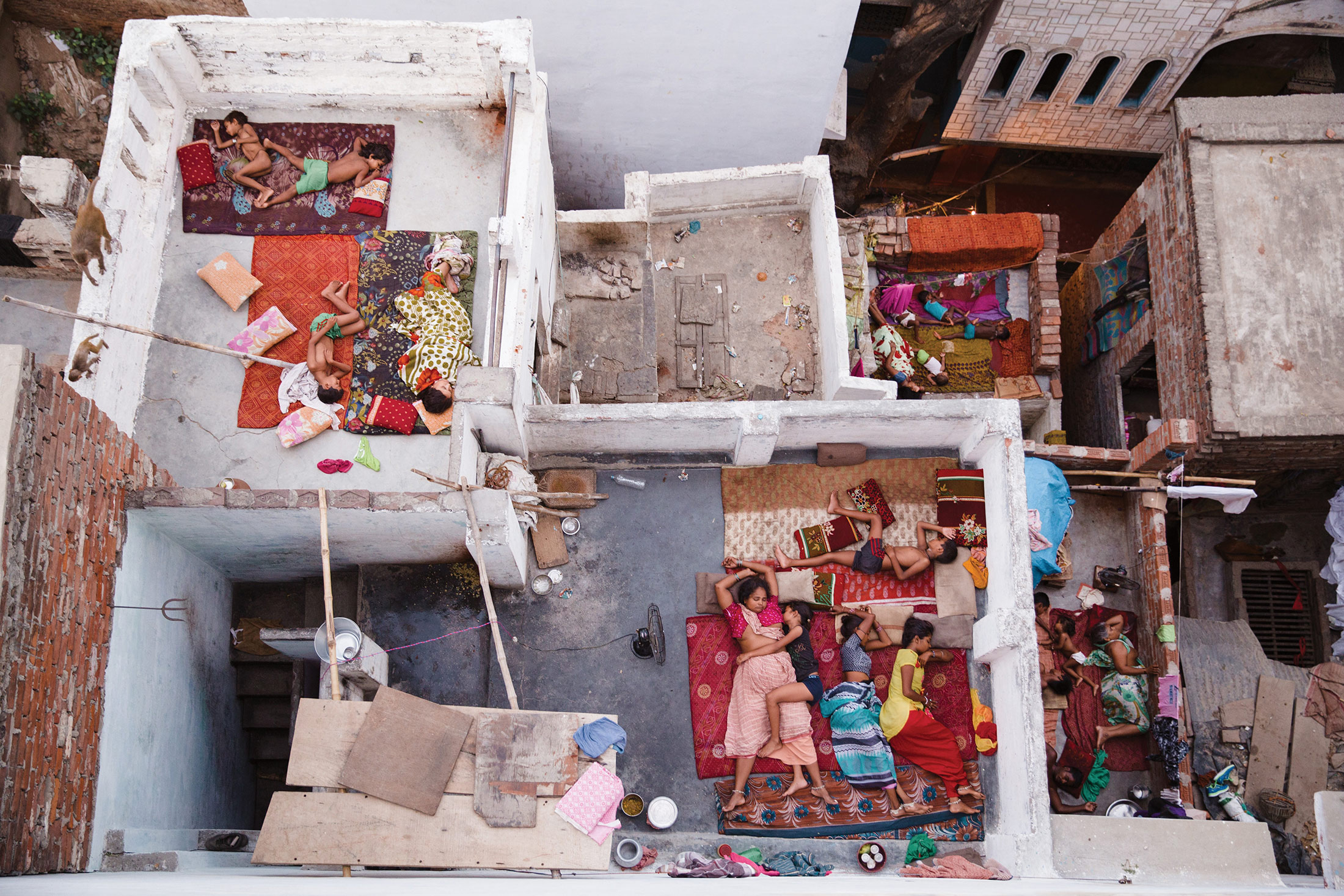 People Second Place: Rooftop Dreams, Varanasi