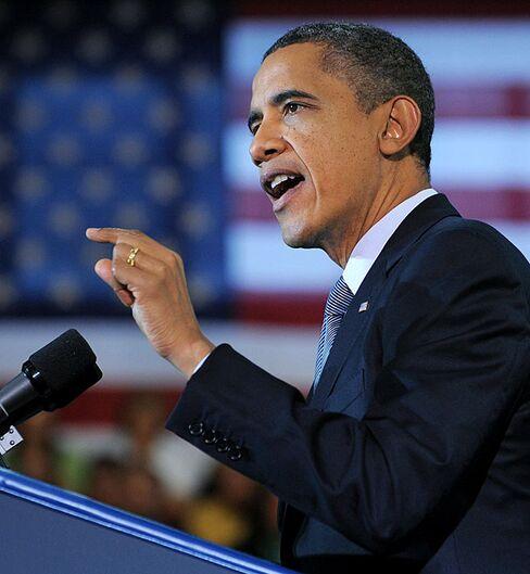 President Barack Obama in Osawatomie