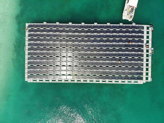 Abu Dhabi Island to HostNation's First Floating Solar Power Plant