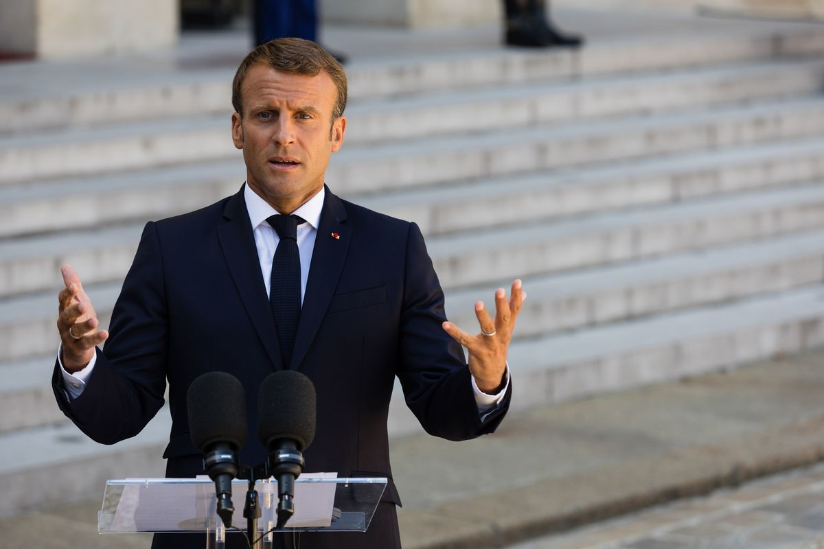 Macron Rips Up Agenda for His G-7 in a Fit of Climate Fury