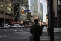 Toronto's Financial District As Premier Ford Hints At New Restrictions